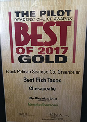 Reader Choice Awards: 2017 Gold - Best Fish Tacos