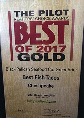 Reader Choice Awards: 2017 Gold - Best Fish Tacos