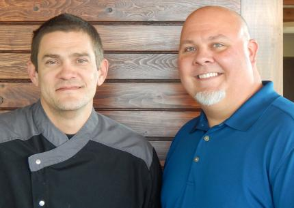 Executive Chef Jason Smith & General Manager Doug Parsons
