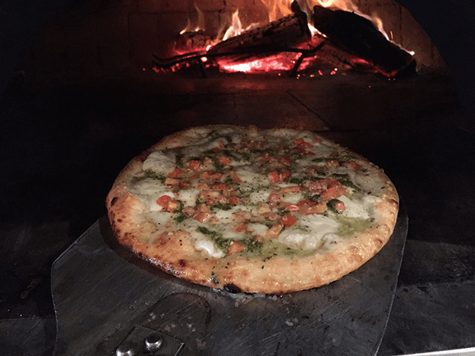 Gourmet Wood-Fired Pizza
